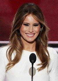 Melania Trump: las claves de estilo y peinados de la sucesora de Michelle Obama
