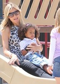 Heidi Klum celebra el Día de la Madre con sus hijos