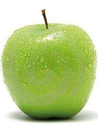 ¡Quema calorías con la piel de manzana!