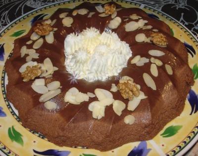 Rueda de chocolate cremoso