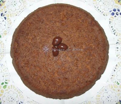 Bizcocho de soja y cacao