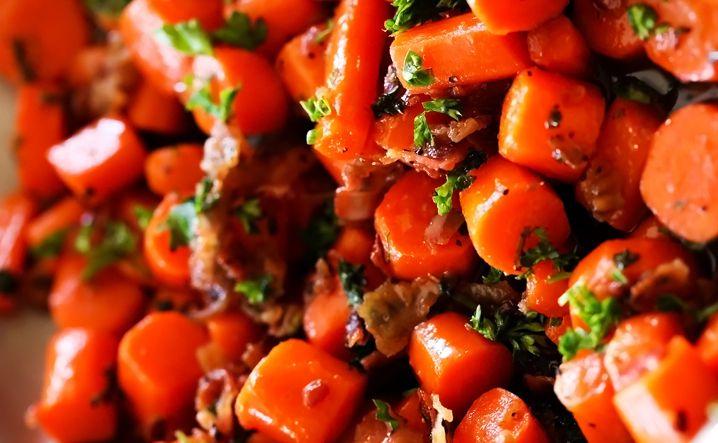 Zanahorias Salteadas Recetas De Cocina Mujerdeelite Preparación de la receta de ensalada de zanahorias y vainitas salteadas zanahorias salteadas