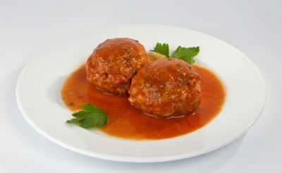 Alb�ndigas de ternera en salsa