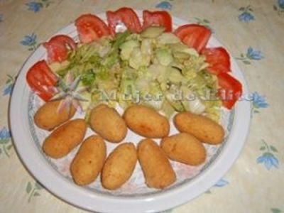 Croquetas de pollo para mycook