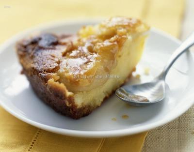 Tarta de manzana maite
