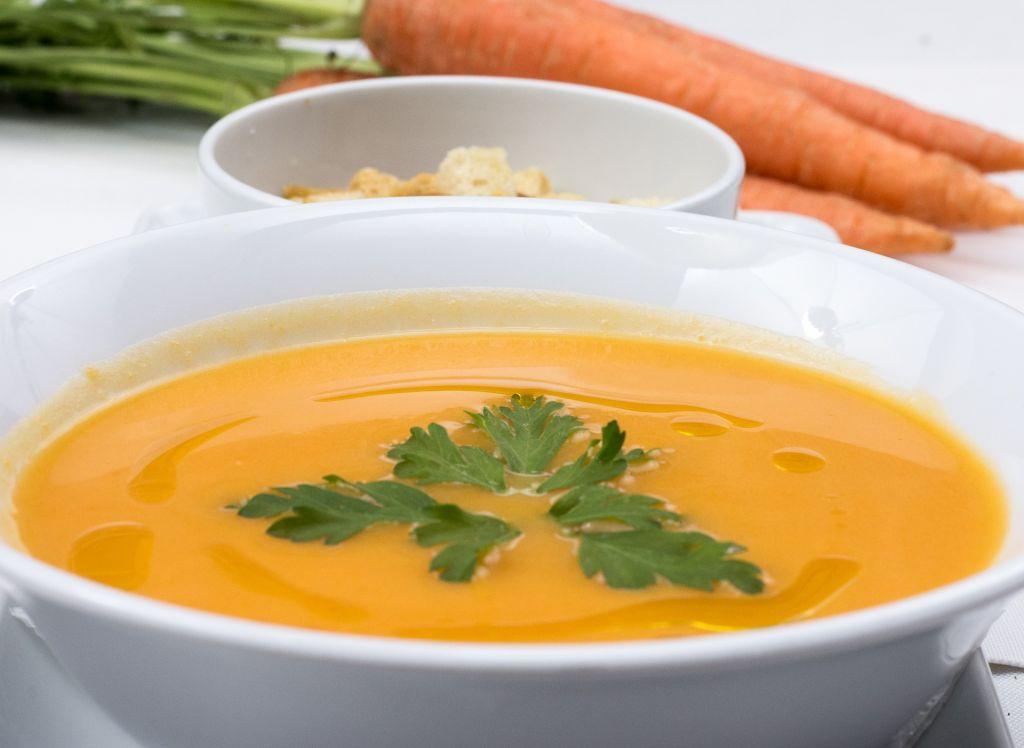 Crema de zanahoria y patata
