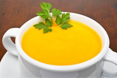 Puré de zanahorias