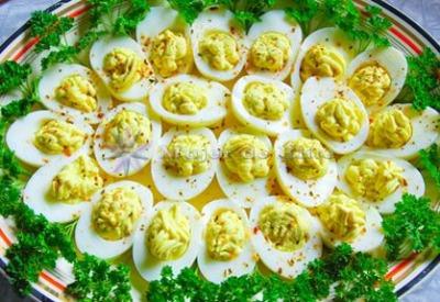 Huevos primavera