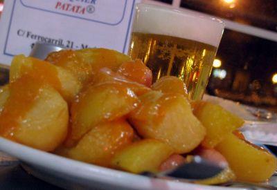 Patatas a la cerveza muy ricas