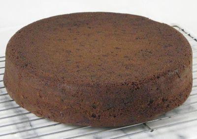 Bizcocho de chocolate en 7 minutos microondas