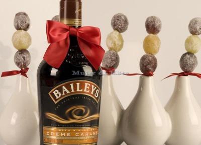 Uvas glaseadas con baileys