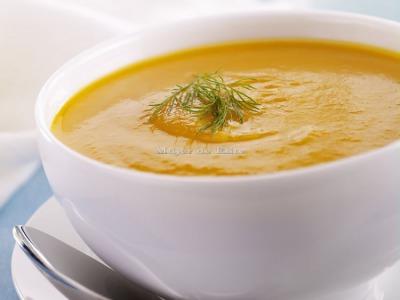 Crema de zanahoria y comino