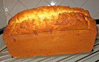 Plumcake de pan duro integral (de mi mujer)