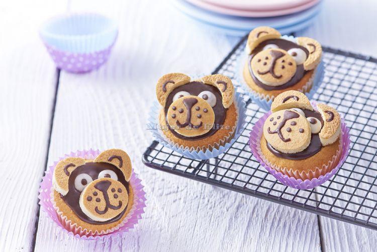 Cupcakes de ositos