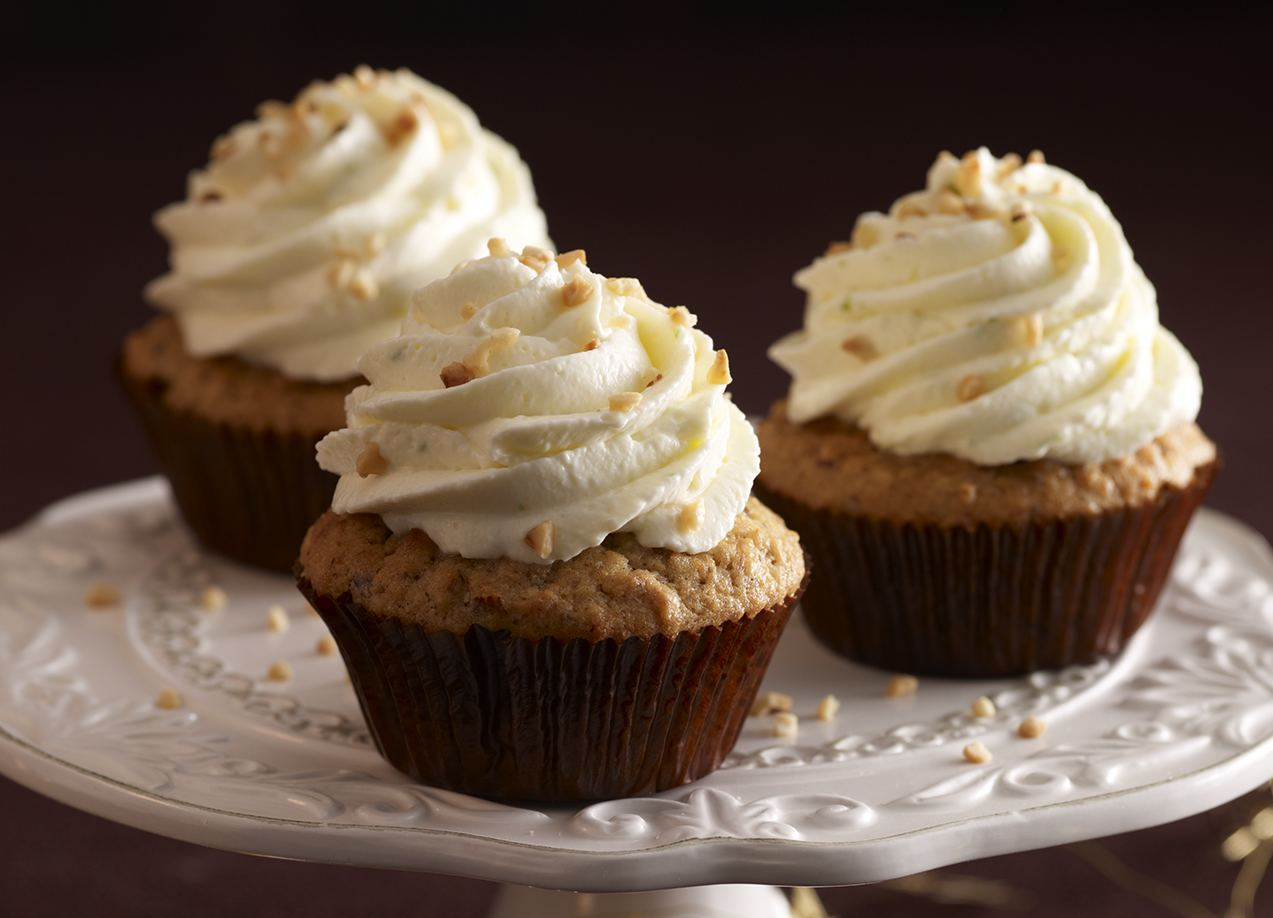 Muffins de avena, chocolate y plátano