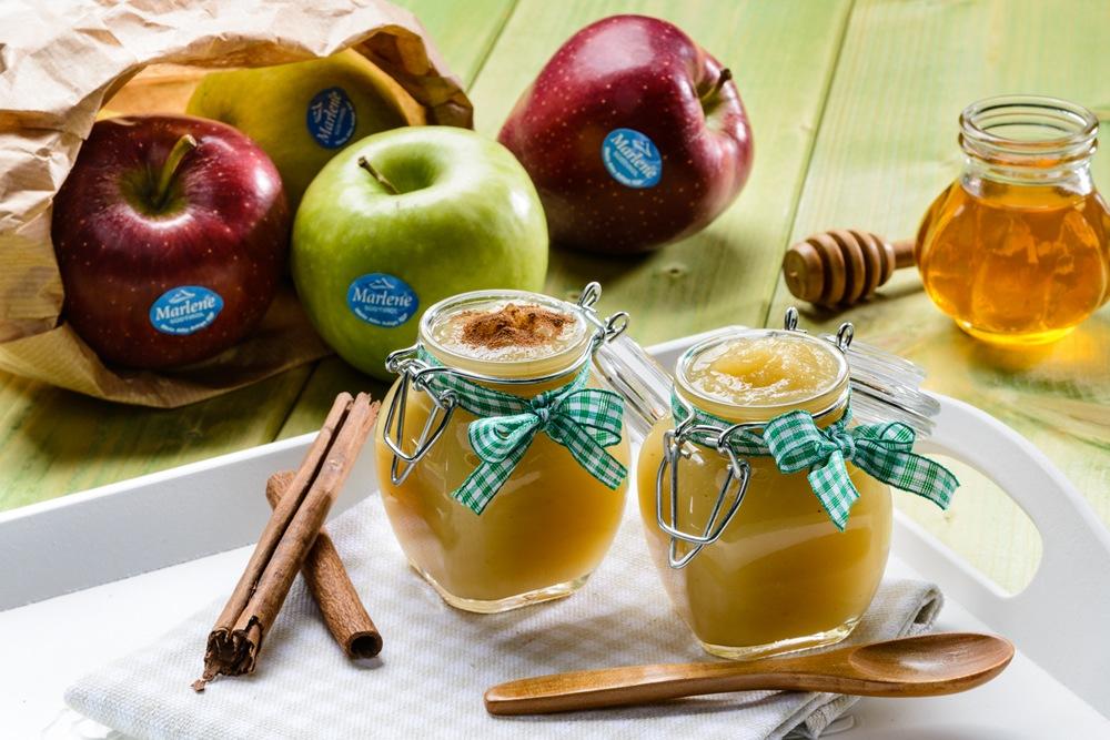 Mousse de manzanas