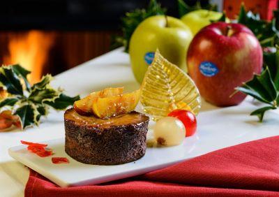 Pastel de chocolate y manzana sin harina (sin gluten)