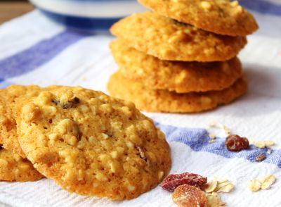 Cookies de nueces de macadamia y arándanos
