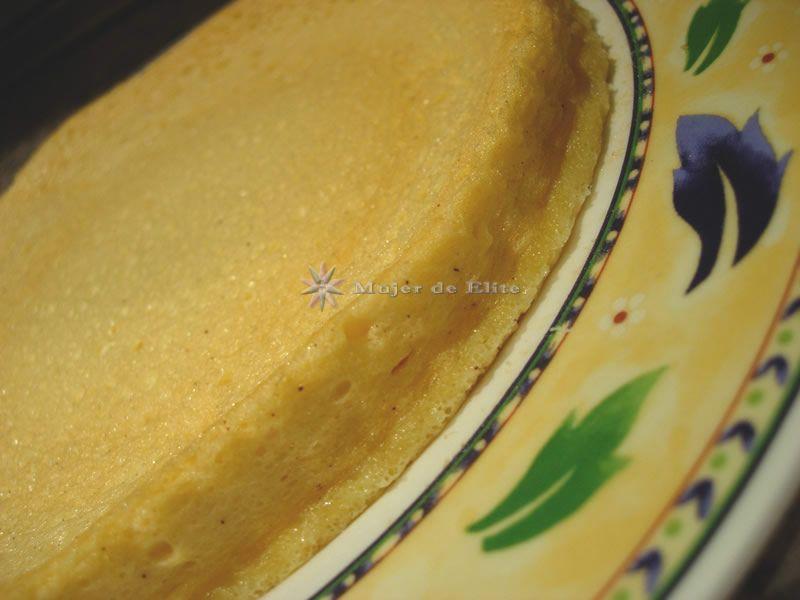 Bizcochuelo sin harina dietético (base de tartas)