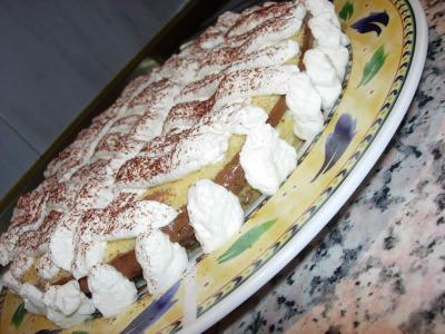 Tarta de chocolate y nata (sin gluten)