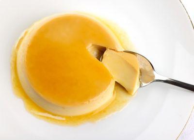 Flan de huevo (microondas)