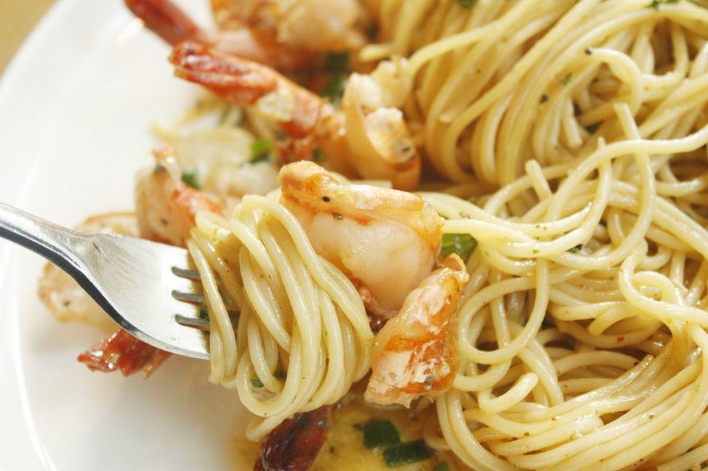 Espaguetis Con Sepia Y Gambas Recetas De Cocina Mujerdeelite