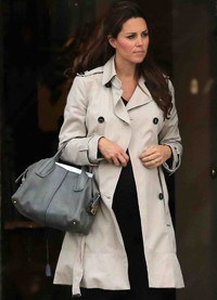 Kate Middleton y Carlota Casiraghi enamoradas de los bolsos D-Bag