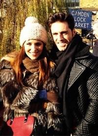 Paula Echevarría y David Bustamante pasean su amor por Londres