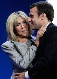 El peinado, corte parisien y color de pelo de Brigitte Trogneux, la nueva primera dama francesa