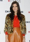 Ashley Greene derrocha estilo para Donna Karan en Nueva York