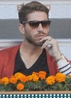 Torneo Mutua Madrid Open 2013 con Sergio Ramos, Mar�a Le�n y David Bustamante